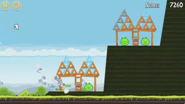 G. Angry Birds Level 4-7 Walkthrough Promo Image