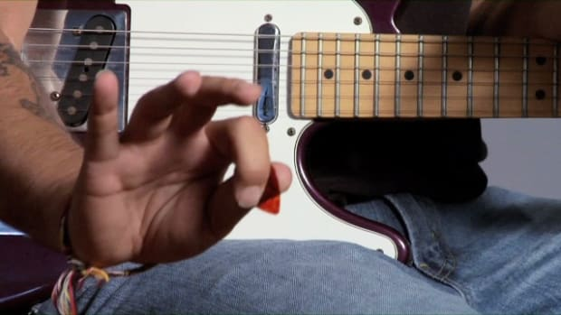G. How to Hold a Guitar Pick Promo Image