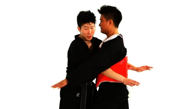 ZO. How to Do Clinch Technique 2 in Taekwondo Promo Image