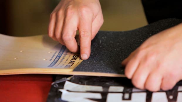 H. How to Adhere Grip Tape on a Skateboard Promo Image