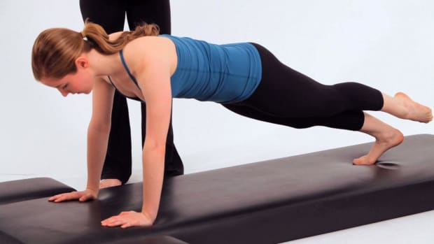 ZZJ. How to Do the Leg Pull-Down in Pilates Promo Image