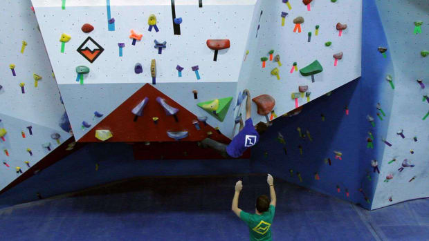 V. 6 Bouldering Safety Tips for Indoor Rock Climbing Promo Image