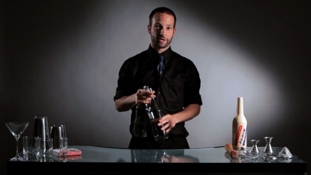 ZD. How to Do Flair Bartending Columns Promo Image