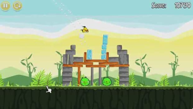 L. Angry Birds Level 2-12 Walkthrough Promo Image