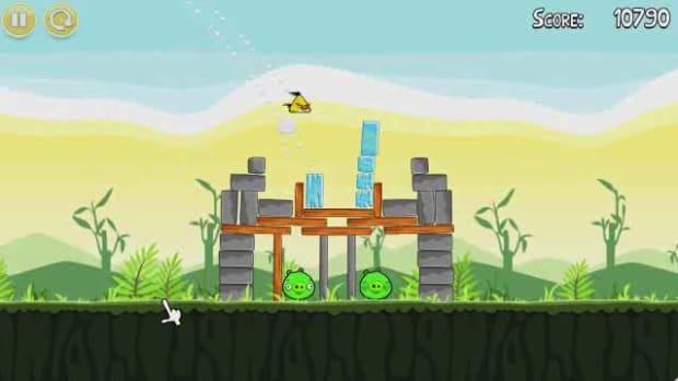 L. Angry Birds Level 2-12 Walkthrough Promo Image