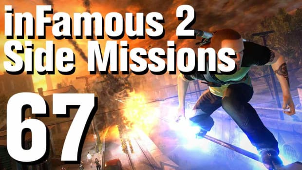 ZZZZG. inFamous 2 Walkthrough Side Missions Part 67: Overcharge - Gas Works 2 Promo Image