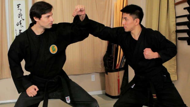 C. How to Do Jodan Uke aka Upper Level Receiving in Ninjutsu Promo Image