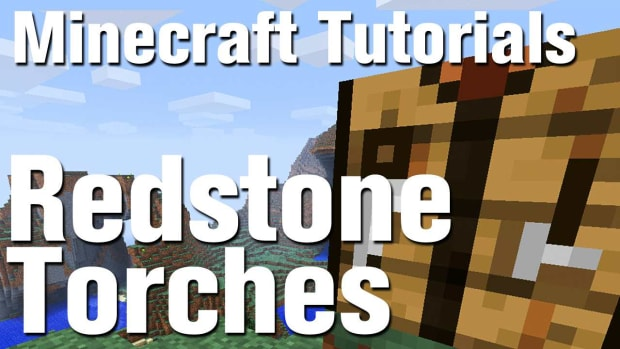 ZK. Minecraft Tutorial: How to Make a Redstone Torch in Minecraft Promo Image