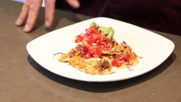 ZN. How to Make Jicama Nachos for a Raw Food Diet Promo Image