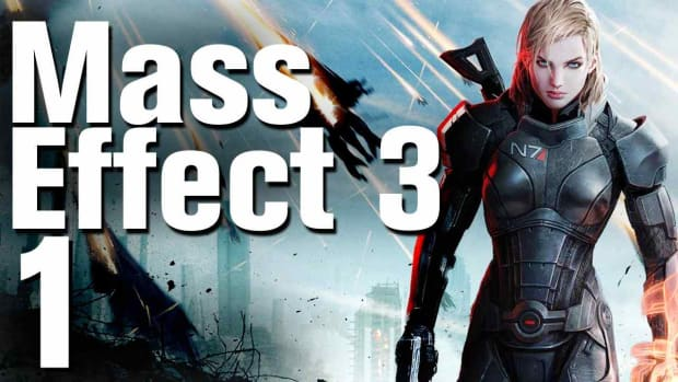 A. Mass Effect 3 Walkthrough Part 1 - Opening Promo Image