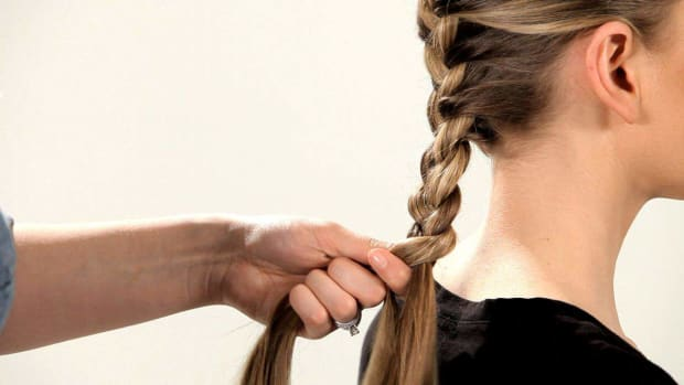 K. How to Do a French Braid Promo Image