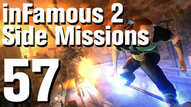 ZZZW. inFamous 2 Walkthrough Side Missions Part 57: Coast Guard Promo Image