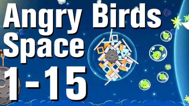 O. Angry Birds: Space Walkthrough Level 1-15 Promo Image