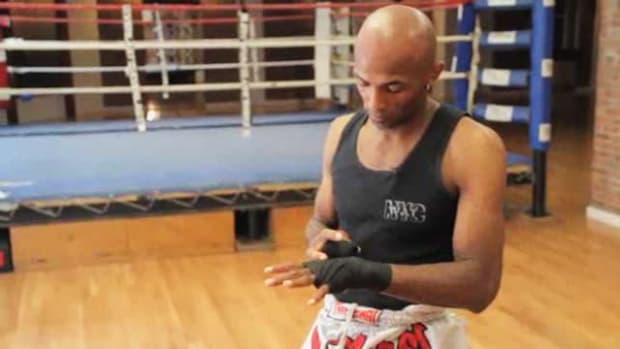U. How to Wrap Hands for UFC Training Promo Image