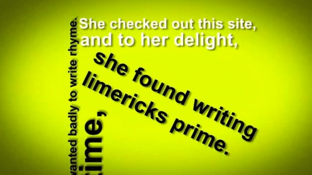 B. How to Write a Limerick Promo Image