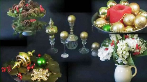 ZH. How to Make Christmas Centerpieces Promo Image