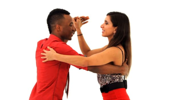 S. How to Do Traditional Bachata Dancing Promo Image