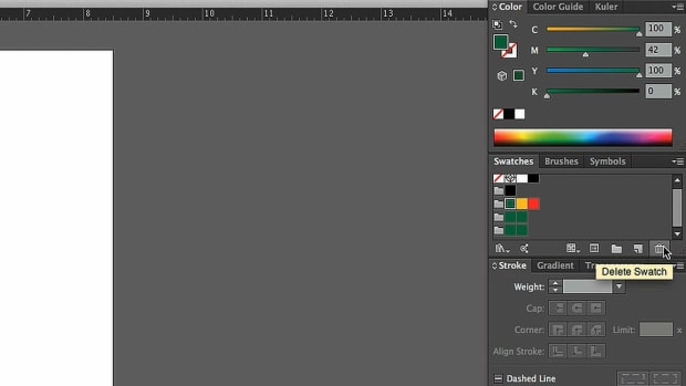 ZC. How to Edit a Color Group with Adobe Illustrator Promo Image