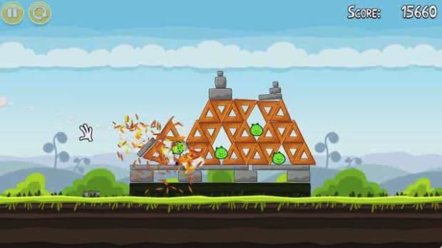 F. Angry Birds Level 4-6 Walkthrough Promo Image