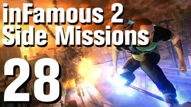ZZV. inFamous 2 Walkthrough Side Missions Part 28: Overcharge 2 Promo Image