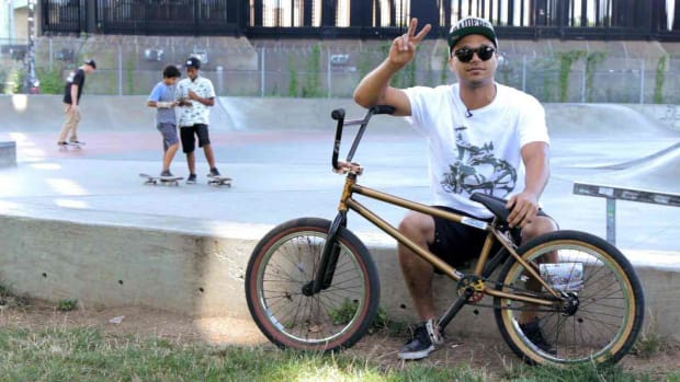 ZE. BMX Bike Tricks with Francisco ColÃ_n Promo Image