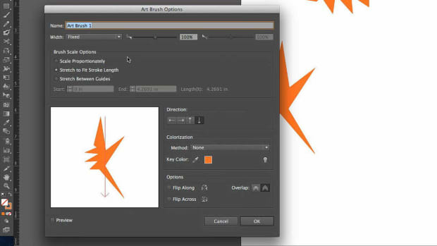 ZV. How to Use Art Brushes with Adobe Illustrator Promo Image
