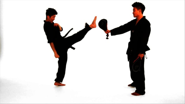 I. How to Do a Front Kick in Taekwondo Promo Image