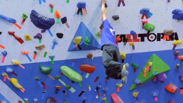 T. Static vs. Dynamic Movement in Indoor Rock Climbing Promo Image