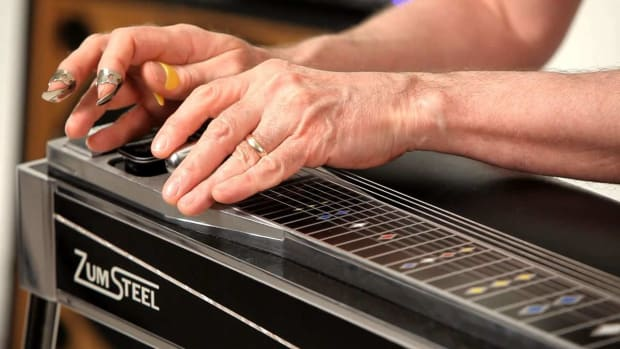 ZJ. How to Play Major Scales on a Pedal Steel Guitar Promo Image