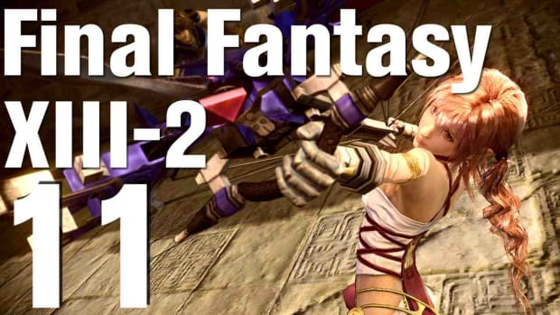 K. Let's Play Final Fantasy XIII-2 Part 11 - Unseen Intruder Promo Image
