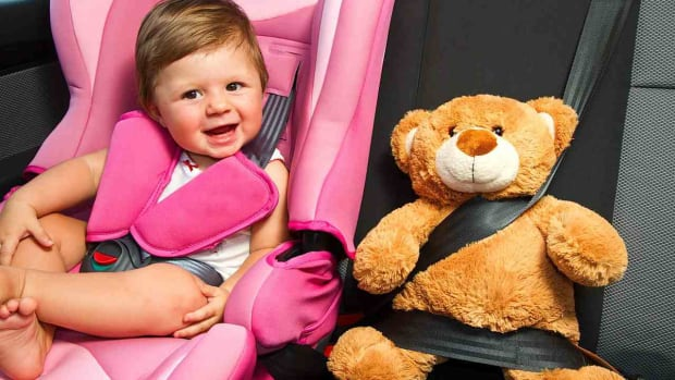 V. How to Keep Your Baby Happy in a Car Seat Promo Image