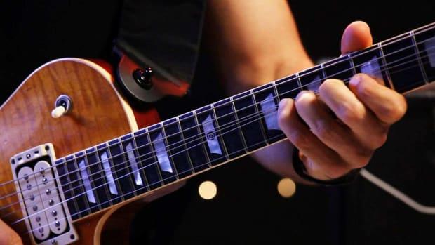 ZR. 4 Finger Vibrato Techniques on Heavy Metal Guitar Promo Image