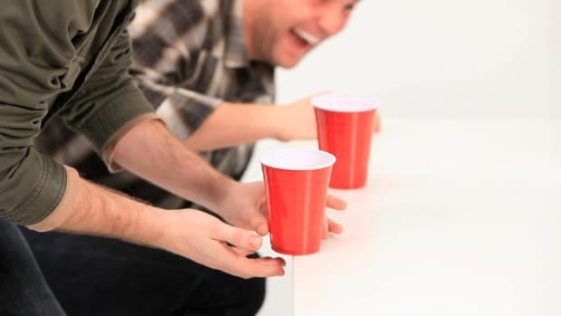 O. Strategy for the Drinking Game Flip Cup Promo Image