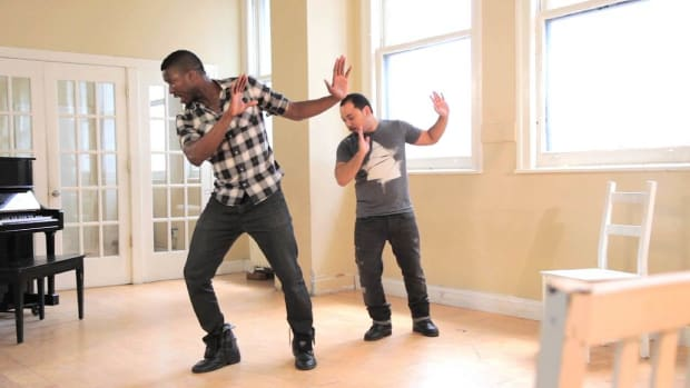 X. How to Do a Beginner Step with a Bass Beat in Step Dance Promo Image