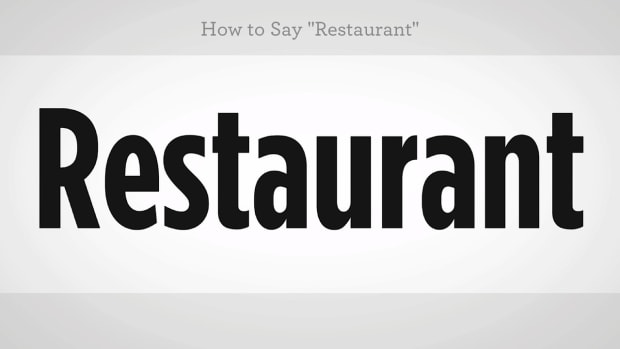 "ZZZA. How to Say ""Restaurant"" in Mandarin Chinese Promo Image"
