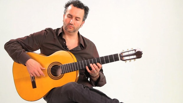 C. How to Hold a Flamenco Guitar and Proper Hand Position Promo Image