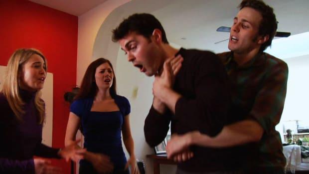 E. How to Perform the Heimlich Maneuver (Abdominal Thrusts) Promo Image