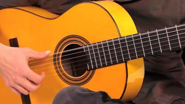 R. Flamenco Guitar Techniques: How to Play Arpeggio Tresillos Promo Image
