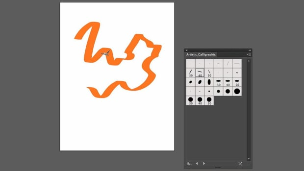ZU. How to Use Calligraphic Brushes with Adobe Illustrator Promo Image