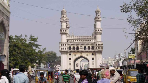 G. Visiting the Charminar in Hyderabad Promo Image