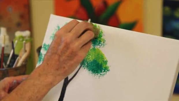 W. How to Paint a Tree Using Acrylic Paint Promo Image