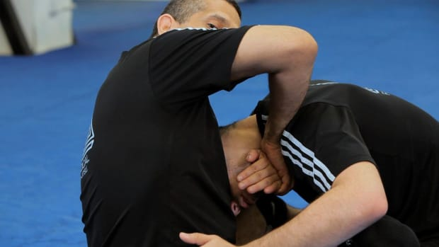 E. How to Do a Marcelo Garcia-Style Guillotine Choke Promo Image