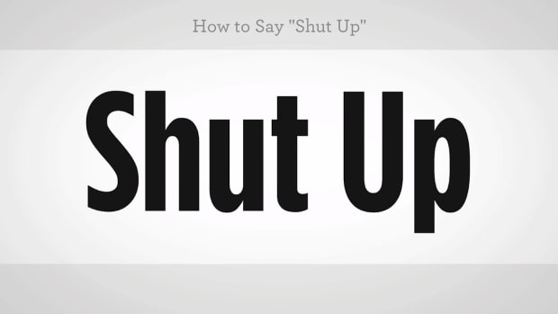 "ZZT. How to Say ""Shut Up"" in Mandarin Chinese Promo Image"