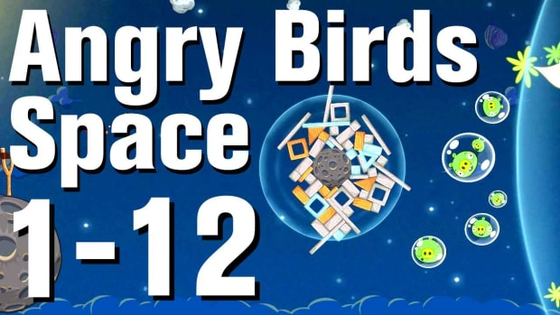 L. Angry Birds: Space Walkthrough Level 1-12 Promo Image