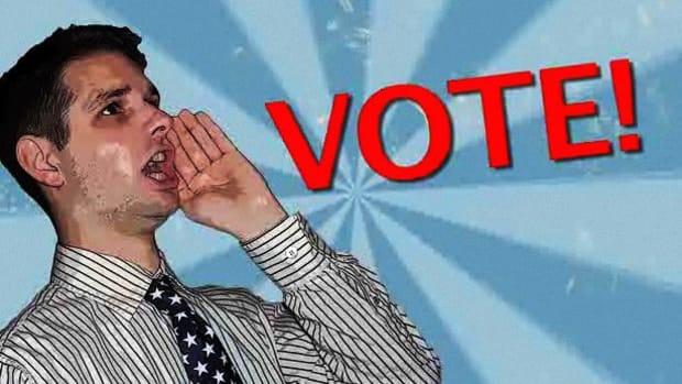 V. How to Get into Politics Promo Image