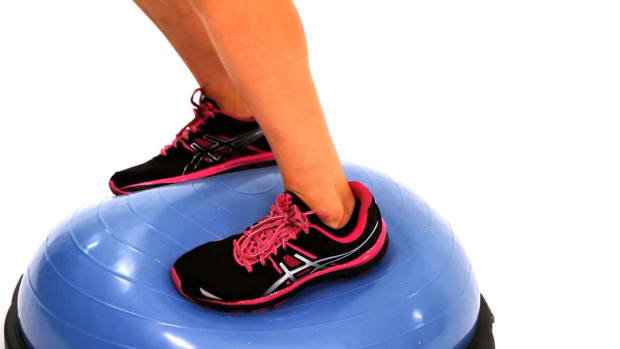 ZC. How to Do Turning Jumps with a Bosu Ball Promo Image