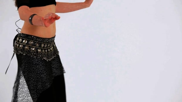 B. How to Do a Walking Shimmy Belly Dance Move Promo Image