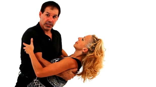 ZH. How to Dip a Lady in West Coast Swing Dance Promo Image