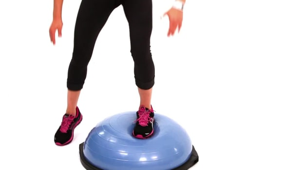 H. How to Do a Bosu Ball Workout Circuit Promo Image
