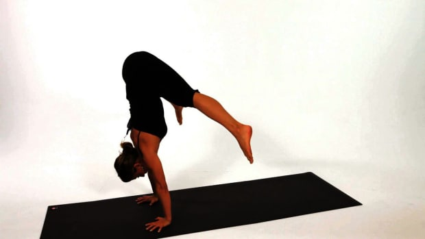 ZJ. How to Do a Press Handstand in Yoga Promo Image